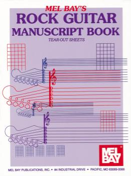 Rock Guitar Manuscript Book -