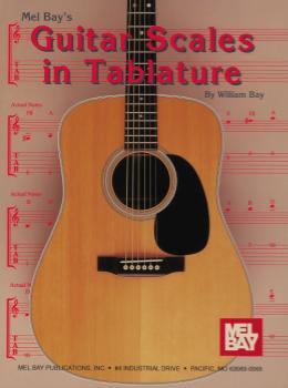 Guitar Scales in Tablature -