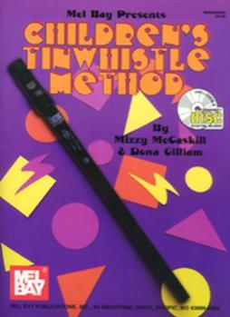 Children's Tinwhistle Method  Book/CD Set
