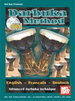 Darbuka Method  Book/CD Set
