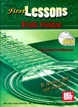 First Lessons Folk Guitar  Book/CD Set