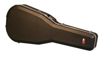 Gator 6/12 String Dreadnought Deluxe Molded Gutiar Case