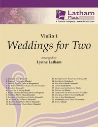 Weddings for Two - Violin I part