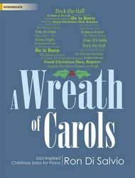 A Wreath of Carols [intermediate piano] DiSalvio Pno