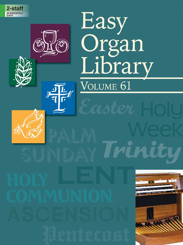 Lorenz    Easy Organ Library Volume 61 - Organ 2 staff