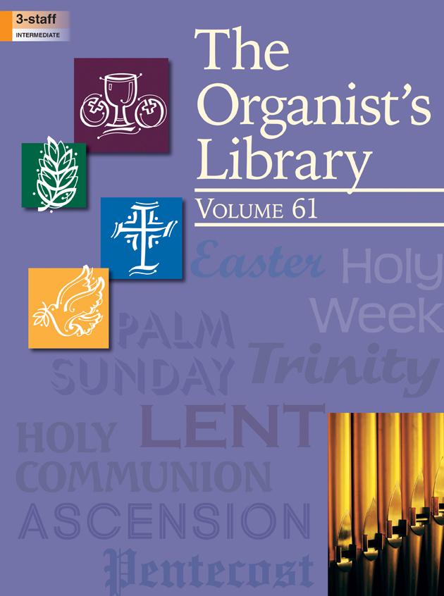 Lorenz    Organist's Library Volume 61 - Organ 3 staff