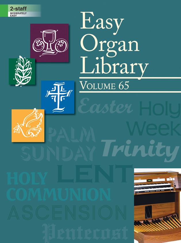 Lorenz    Easy Organ Library Volume 65 - Organ 2 staff