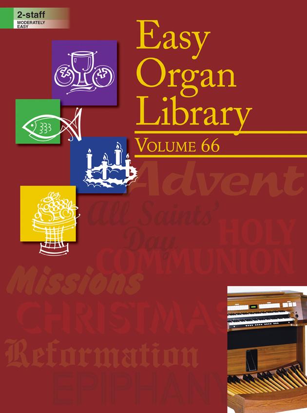 Lorenz    Easy Organ Library Volume 66 - Organ 2 staff