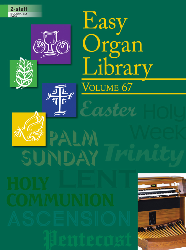 Lorenz    Easy Organ Library Volume 67 - Organ 2 staff