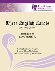 Three English Carols for String Quartet