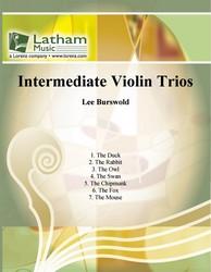Intermediate Violin Trios