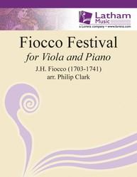 Fiocco Festival For Viola and Piano