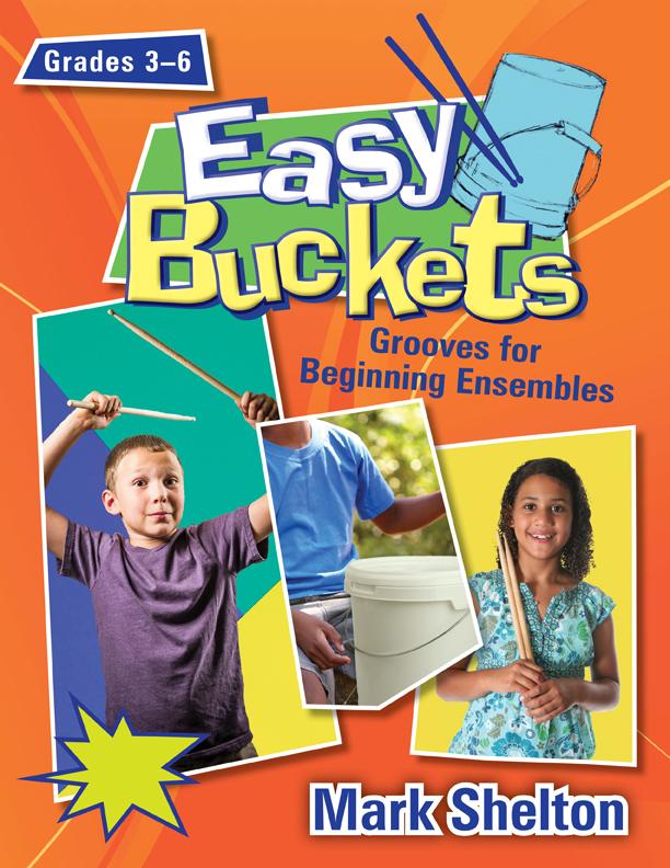 Easy Buckets [music education] Book,Audio