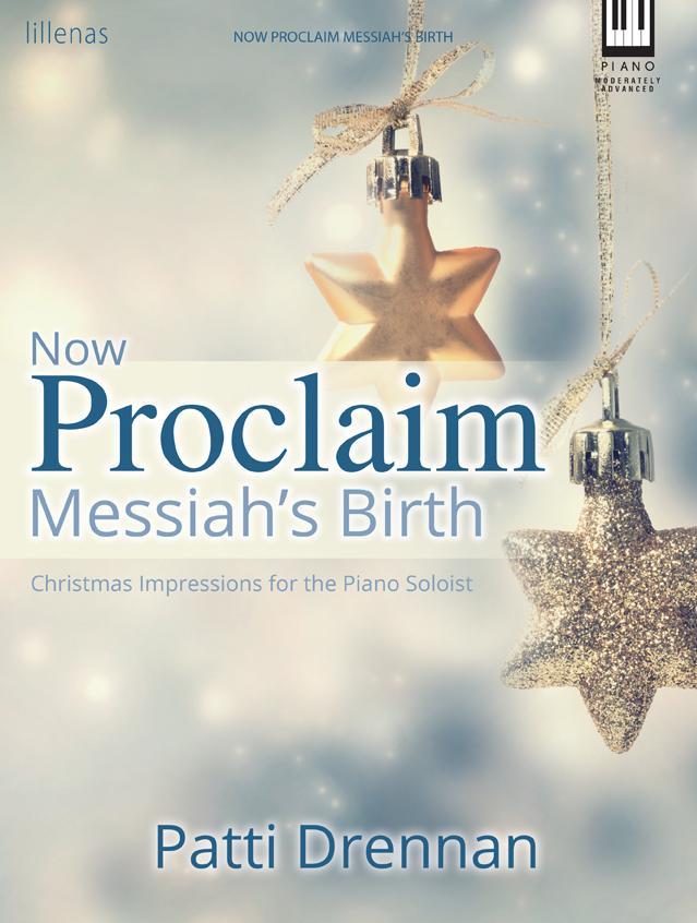 Now Proclaim Messiah's Birth! - Piano