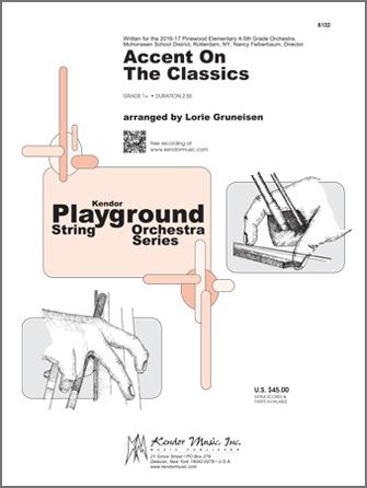Kendor arr. Gruneisen       Gruneisen L  Accent on the Classics - String Orchestra