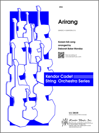 Kendor Korean folk song     Monday D B  Arirang - String Orchestra