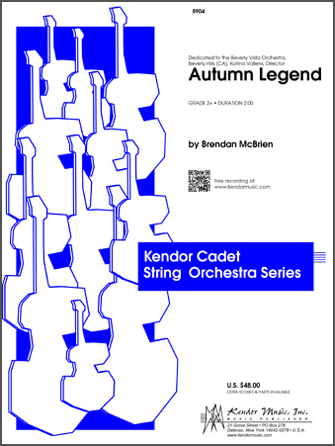 Kendor McBrien B              Autumn Legend - String Orchestra