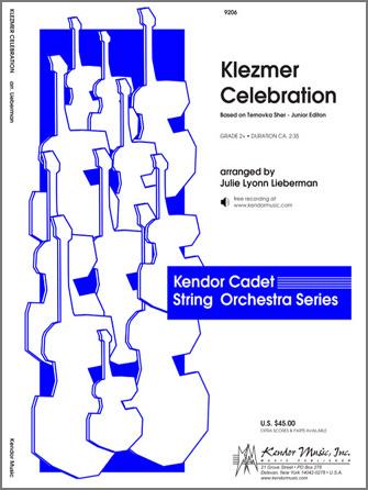 Kendor Traditional          Lieberman J  Klezmer Celebration (based on Ternovka Sher) (Junior Edition) - String Orchestra