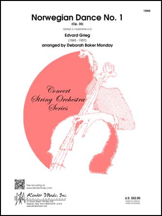 Kendor Grieg                Monday D B  Norwegian Dance No 1 Op 35 - String Orchestra
