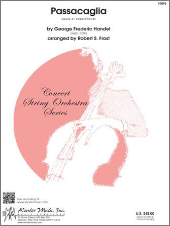 Kendor Handel               Frost R  Passacalia - String Orchestra