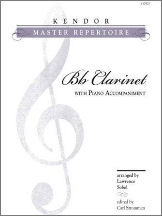 Kendor various              Sobol / Strommen  Kendor Master Repertoire - Clarinet / Piano