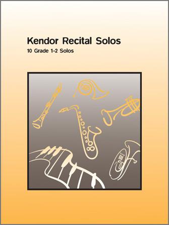Kendor Recital Solos / Solo Bk w/CD [tenor sax]