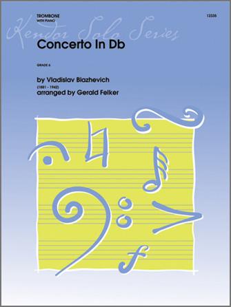 Concerto No. 2 In Db - Trombone Solo with Piano Accompaniment