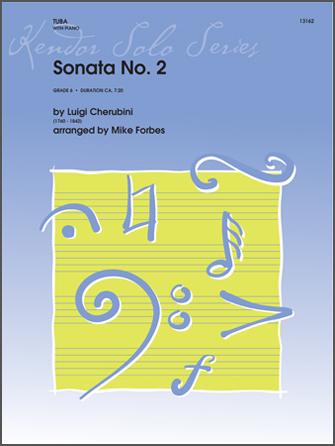 Sonata No. 2 - Tuba Solo with Piano Accompaniment