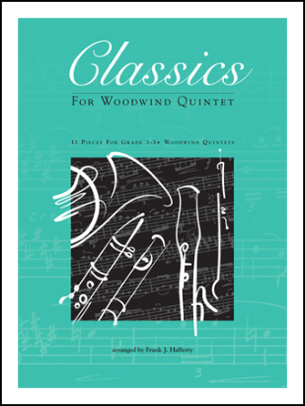 Kendor Various              Halferty F  Classics for Woodwind Quintet - French Horn