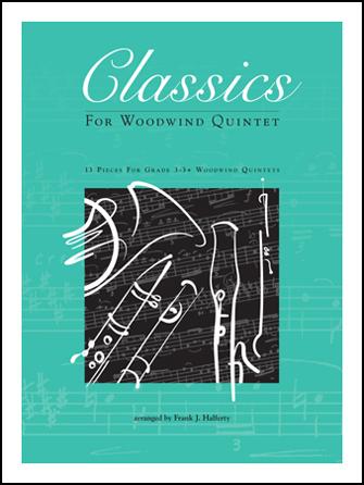 Kendor Various              Halferty F  Classics for Woodwind Quintet - Bass Clarinet