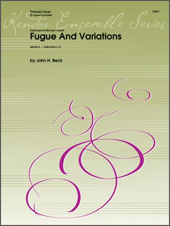 Fugue And Variations - Timpani Duet