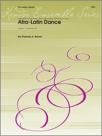 Afro-Latin Dance [perc 6tet] PERC ENS