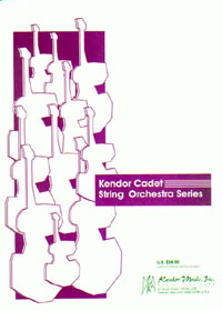 Kendor Pachelbel Caponegro J  Theme From Canon In D - String Orchestra