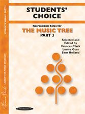 Music Tree Student's Choice Part 3 PIANO