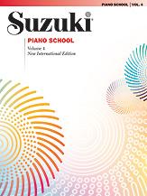 Suzuki Piano School New International Edition Piano Book, Volume 4 [Piano]