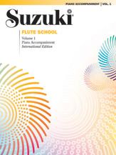 Suzuki Flute School International Edition Piano Acc., Volume 1 Book