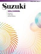Suzuki Viola School, Volume 3 - Viola Part