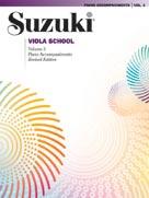 Suzuki Viola School Piano Acc., Volume 3 (Revised) [Viola]