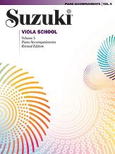 Suzuki Viola School Piano Acc., Volume 5 [Viola]