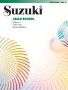 Suzuki Cello School Cello Part Volume 5 Revised Cello