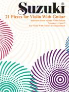21 Pieces for Violin with Guitar [Violin]