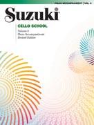 Suzuki Cello School Piano Acc., Volume 8 [Cello]