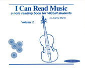 I Can Read Music, Vol. 2 - Violin