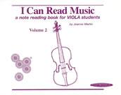 I Can Read Music, Volume 2 [Viola]