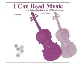 I Can Read Music, Volume 1 [Viola]