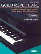 Guild Repertoire: Intermediate B - Piano