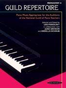 Guild Repertoire: Preparatory A - Piano