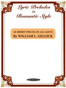 Lyric Preludes in Romantic Style IMTA-C PIANO