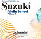 Suzuki Violin School, Vol. 5 - With CD
