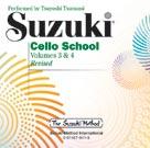 Suzuki Cello School, Volume 3 & 4 - Compact Disc Leonard/Tsutsumi